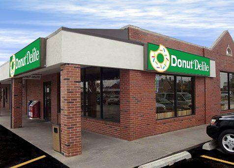 Donut Delite Shop Front